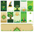 St. Patrick's Day cards Stock Image