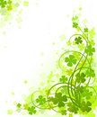 St. Patrick's Day design. Royalty Free Stock Image