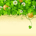 St. Patrick's Day frame 2 Royalty Free Stock Images