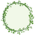 St.Patrick`s day frame Royalty Free Stock Photos