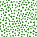 Saint Patrick`s day seamless background - Vector