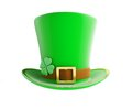 St. Patrick's day green hat Stock Photography