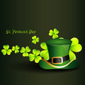 St patrick's day hat Royalty Free Stock Photography