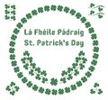 St. Patrick`s Day Herbal Patterns