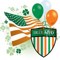 St Patrick's Day Icon Stock Image