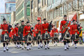 St.Patrick's day in Montreal. Royalty Free Stock Photo