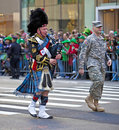 St. Patrick's Day Parade Royalty Free Stock Photos