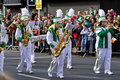 St. Patrick's Day parade in Limerick Stock Photo