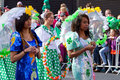 St. Patrick's Day parade in Limerick Stock Photography