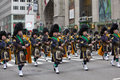 St patrick s day parade new york ny usa mar bagpipers at the on march in new york city united states Stock Photos