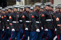 St patrick s day parade new york ny usa mar marines at the on march in new york city united states Stock Image