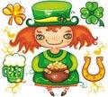 St. Patrick's Day  series 3 Stock Photo