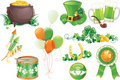 St.Patrick's Day symbols Stock Photo
