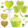 St Patrick's Day Treats Royalty Free Stock Photography