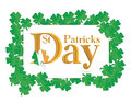 St. Patrick's Days design Royalty Free Stock Photography