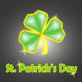 St. Patrick's greeting card Stock Photo