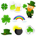 St_Patrick's_set Stock Photography