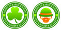 St. Patrick's Stamps Royalty Free Stock Images