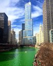 St Patrick& x27;s day in Chicago Royalty Free Stock Photo