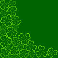 St patricks day background illustration of Stock Photo