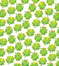 St patricks day background seamless Stock Photo