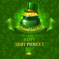 St patricks day background vector illustration Stock Photography