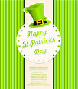 St patricks day background vector ilustration Stock Photography