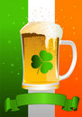 St. Patricks Day Celebration Background Stock Photos