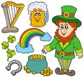 St Patricks day collection 2 Royalty Free Stock Image