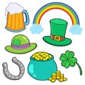 St Patricks day collection Royalty Free Stock Images