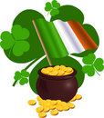 St. Patricks Day Design Stock Images