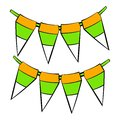 St. Patricks day flags icon, icon cartoon