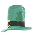 St patricks day hat cut out Stock Photos