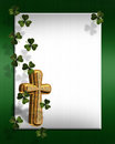 St Patricks day Irish border Royalty Free Stock Photos