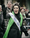 St patricks day new york ny usa mar miss new york at patrick s parade on march in new york city united states Stock Photo