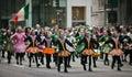 St patricks day parade new york ny usa mar nyfd at the on march in new york city united states Royalty Free Stock Photos