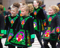 St. Patricks Day Parade NYC Royalty Free Stock Photos
