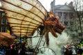 St patricks day parade patrick s dublin ireland in Royalty Free Stock Photography