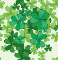 St patricks day seamless background Royalty Free Stock Image