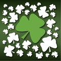 St Patricks Day Shamrock Royalty Free Stock Photography