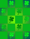 St. Patricks Stain Glass Royalty Free Stock Images