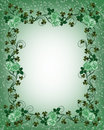 St Pattys Day Border Royalty Free Stock Photos