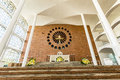 St. Paul Apostle Cathedral, Blumenau Royalty Free Stock Photo
