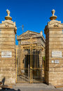 St paul catacombs of situated in rabat in malta Royalty Free Stock Image