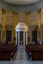 St paul cathedral apse of the anglican pro in valletta Royalty Free Stock Image
