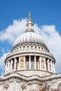 St. Paul Cathedral Dome London Royalty Free Stock Photo