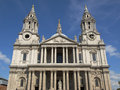 St Paul Cathedral, London Royalty Free Stock Photos