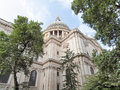 St paul cathedral london in united kingdom uk Royalty Free Stock Photo
