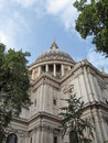 St paul cathedral london in united kingdom uk Royalty Free Stock Photos