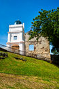 St paul church on the top of hill it was build by portuguese at melaka malaysia Stock Photos